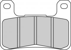 Колодки тормозные мото FERODO FDB2178XRAC