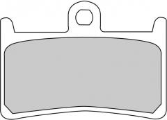 Колодки тормозные мото FERODO FDB605XRAC