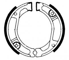 Колодки барабанные мото FERODO FSB740
