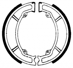 Колодки барабанные мото FERODO FSB776