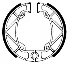 Колодки барабанные мото FERODO FSB909