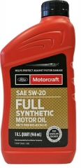 FORD Motorcraft Full Synthetic 5W-20 (XO5W20QFS)