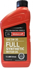 FORD Motorcraft Full Synthetic 5W-30 (XO5W30QFS)