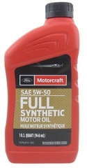 FORD Motorcraft Full Synthetic 5W-50 (XO5W50QGT)