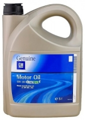 GM MOTOR OIL 5W-30 DEXOS 1