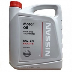 NISSAN MOTOR OIL 0W-20 (KE900-90133, KE900-90143)