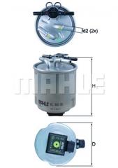 Фильтр топливный MAHLE/KNECHT KL 440/39