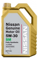 NISSAN Genuine Motor Oil SM 5W-30 (KLAL605301, KLAL605304)