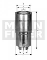 Фильтр топливный MANN-FILTER WK 730/2