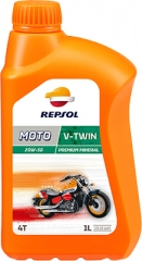 REPSOL MOTO V-TWIN 4T 20W-50