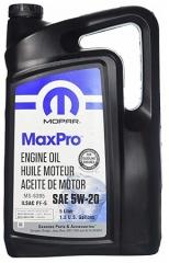 MOPAR MaxPro 5W-20 (68218890AB, 68218891AC)