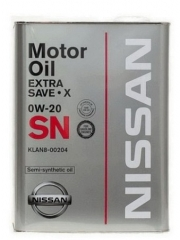 NISSAN EXTRA SAVE X 0W-20 (KLAN8-00204)