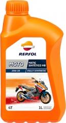 REPSOL MOTO MATIC SINTETICO MB 4T 10W-30