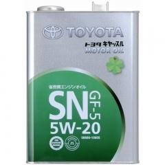 TOYOTA MOTOR OIL SN GF-5 5W-20 (08880-10605)