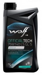 WOLF OFFICIALTECH 75W-140 LS GL 5