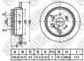 Диск тормозной NIBK RN1618
