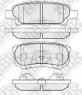 Колодки тормозные NIBK PN3502