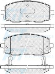 Колодки тормозные FiT FP0002