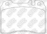 Колодки тормозные передние NIBK PN0002