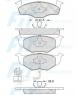 Колодки тормозные FiT FP3262E