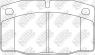 Колодки тормозные NIBK PN0234