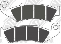 Колодки тормозные мото NIBK PM043