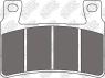 Колодки тормозные мото NIBK PM066