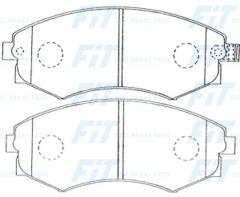 Колодки тормозные FiT FP0887