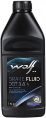 WOLF BRAKE FLUID DOT 3&4