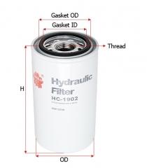 Фильтр гидравлический SAKURA HC1902