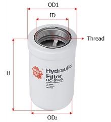 Фильтр гидравлический SAKURA HC5505