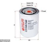 Фильтр охлаждающей жидкости SAKURA WC5713